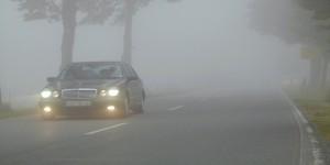 Будьте осторожны при езде в плохую погоду