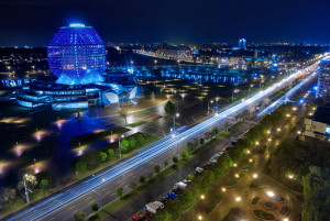 Ночной Минск