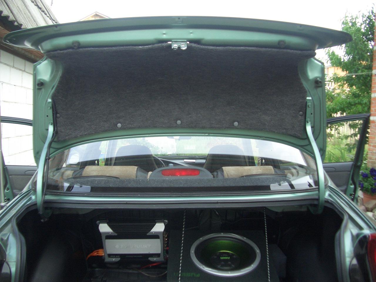 Шумоизоляция багажника ланос своими руками 18