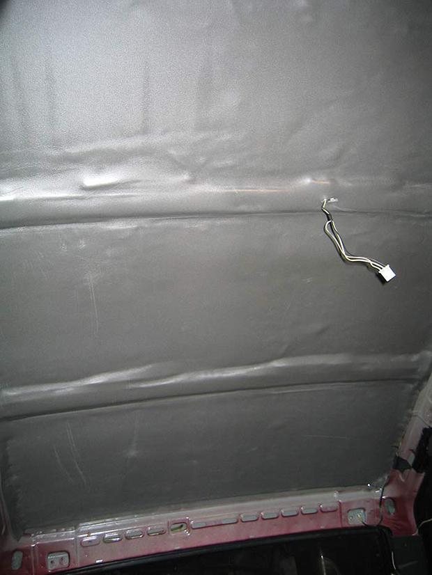 Шумоизоляция дверей ВАЗ 2114