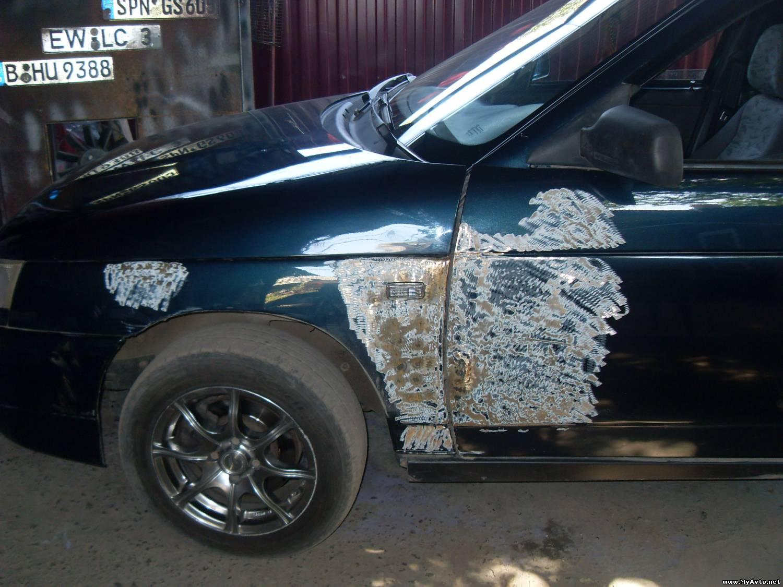 Технология покраски автомобиля своими руками фото 294