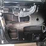 Шумоизоляция дверей УАЗ Патриот