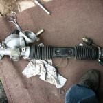 Как сделать ремонт рулевой рейки ВАЗ 2109?