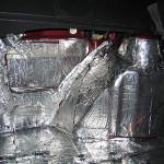 Шумоизоляция моторного щита ВАЗ 2114