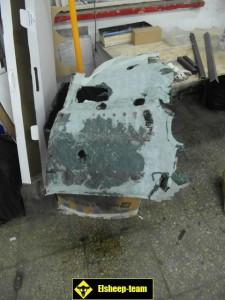 Демонтаж салона УАЗ Патриот