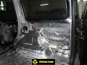 Шумоизоляция багажника