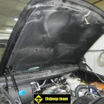 Шумоизоляция капота УАЗ Патриот