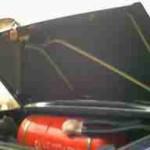 Проклеенная крышка багажника