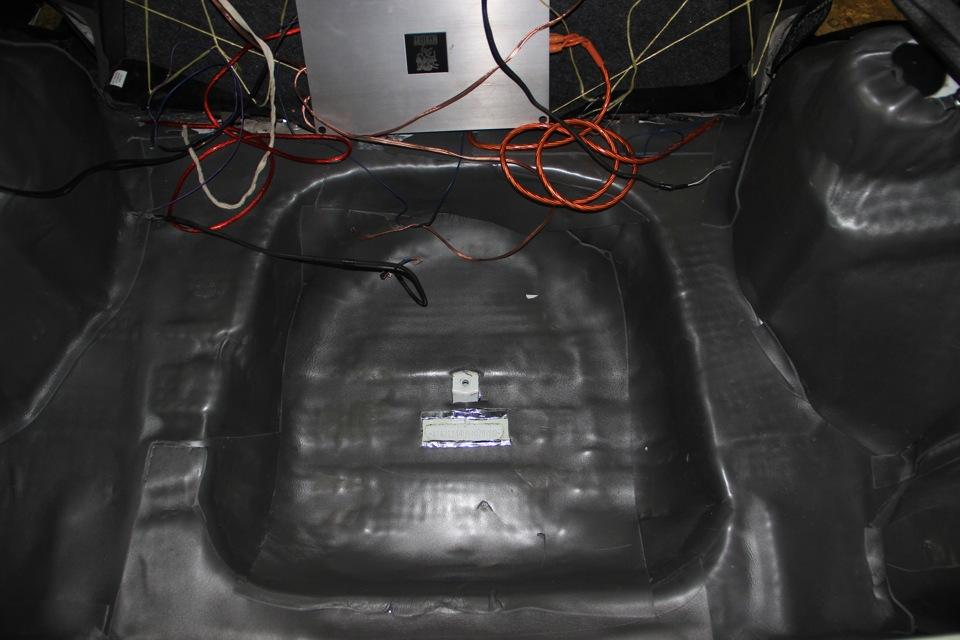 Первый вариант выполнения шумоизоляции ВАЗ 2114