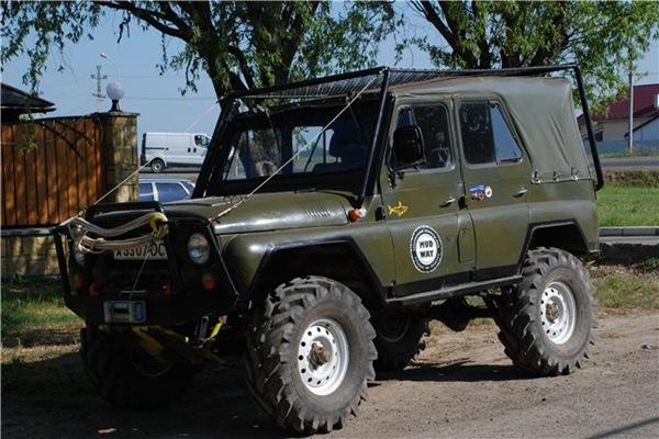 Тюнинг УАЗ 469 своими руками