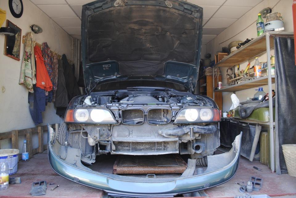 Ремонт машины в гараже своими руками 73