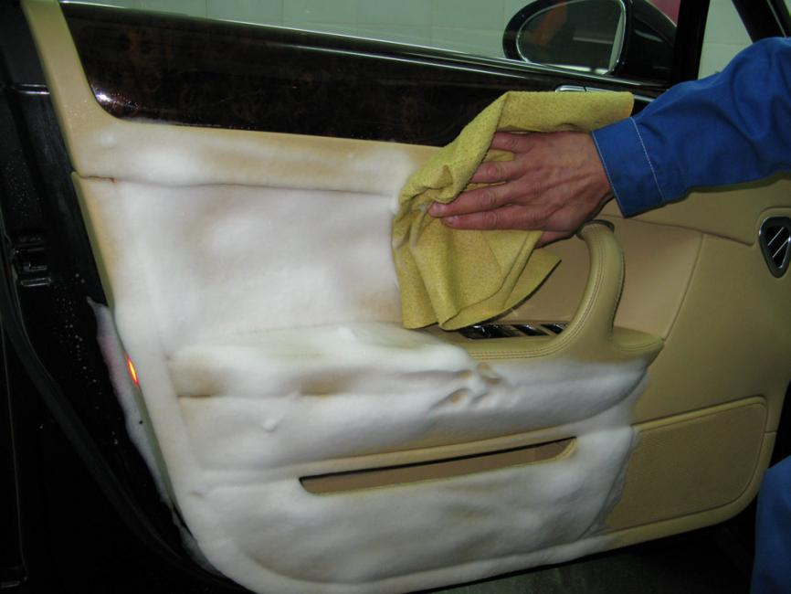 Салон в машину своими руками