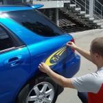 Как сделать наклейки на авто своими руками?