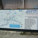 Стоимость проката авто в Турции