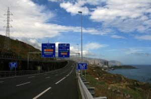 Дороги и бензин на Тенерифе