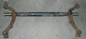 Конструкция задней балки