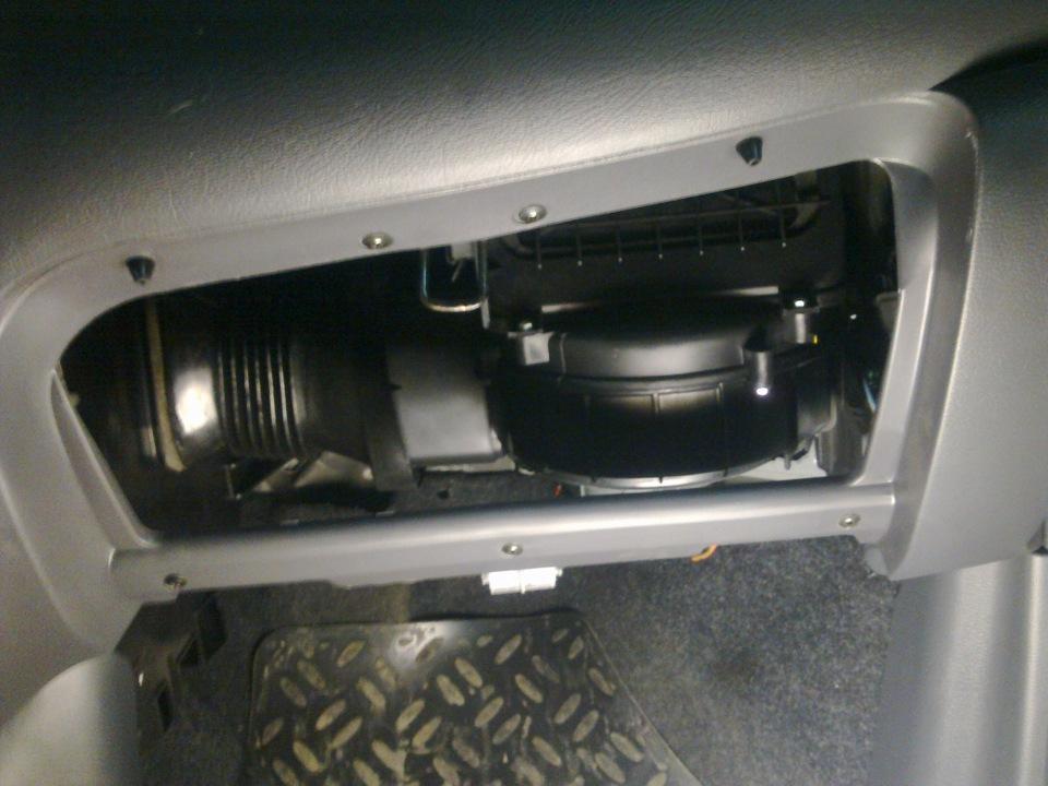 Дэу матиз где находится салонный фильтр на