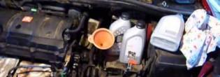 Замена масла в коробке передач AL-4 в Пежо 308