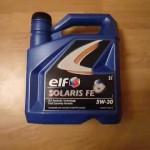 ELF SOLARIS RNX 5W-30