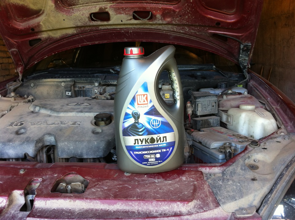 Срок замены масла кпп по заводской инструкции ваз 21103