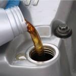 Заливаем новое масло