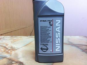 Оригинальное масло в литровой бутылке