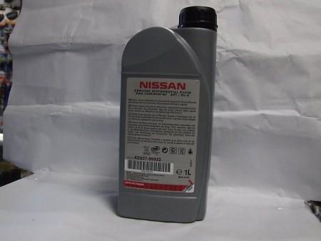 Масло Ниссан для механики