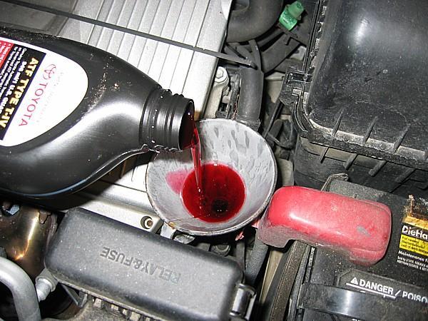Замена масла в автомобиле своими руками
