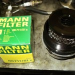 Снимаем масляной фильтр