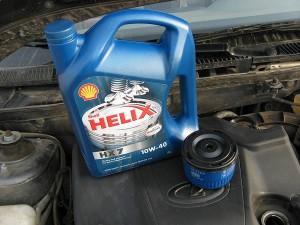 масло Хеликс и фильтр