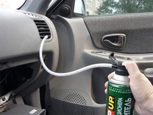 Чистка через воздуховод