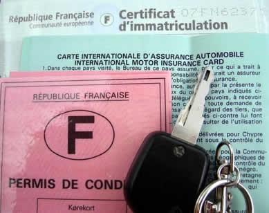 Требования к водителю при путешествии на авто по Франции
