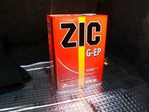 Масло ZIC 80W90 GL-4