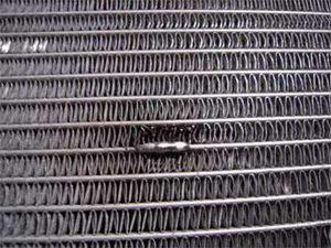 Пайка медного радиатора