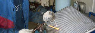 Как запаять радиатор для машины?