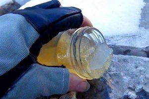 Летняя солярка на морозе