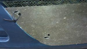 Грубая защита радиатора