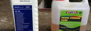 Какую жидкость заливают в гидроусилитель руля?