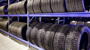 Хранение шин на складе