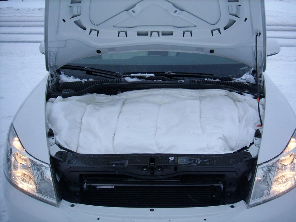 Как утеплить моторный отсек автомобиля своими руками 74