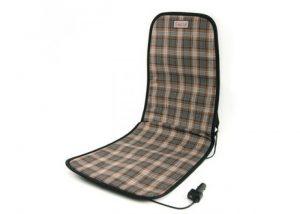 Старая накидка на кресло с подогревом