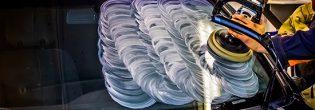 Тонкости полировки лобового стекла