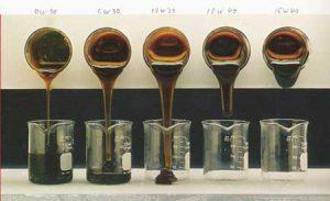 Отличия между маслами по вязкости