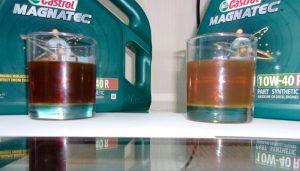 10w40 синтетика и полусинтетика