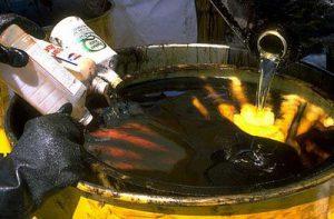Утилизация старого масла