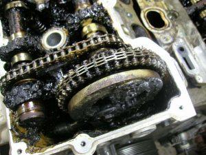 Минералка в современном двигателе