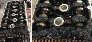 Старое масло в моторе