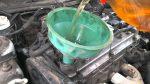 Промывка мотора соляркой перед заменой масла