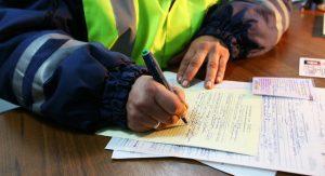 Подпись заявления инспектором