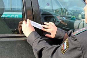 Опечатывание арестованного авто